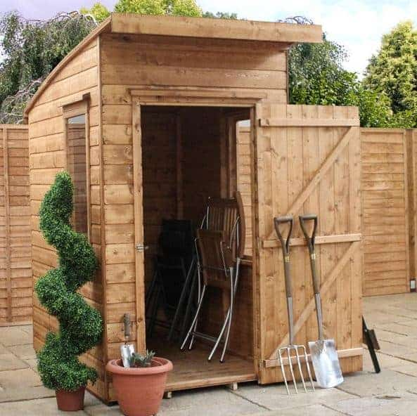 6' x 4' Windsor Suffolk Tongue and Groove Pent Wooden Shed (1.83m x 1.22m)