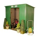Small Shed - 6 x 4 Sutton Metal Pent Small Shed