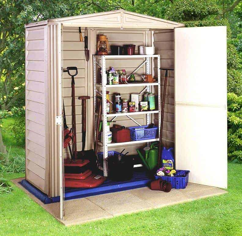 duramax little hut plastic small shed - Garden Sheds Small