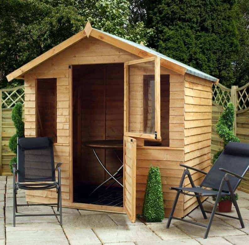 Small Summer House Uk Part - 15: 7u0027 X 5u0027 Windsor Overlap Small Summer House With Stable Door