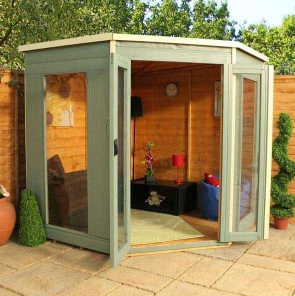 Attractive Small Summer House Uk Part - 5: 7u0027 X 7u0027 Waltons Premier Small Summer House