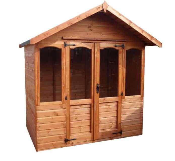 Adley 7' x 5' Henley Double Door Summer House