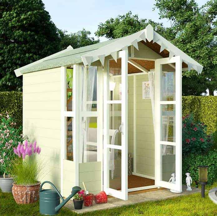 Delightful Small Summer House Uk Part - 3: BillyOh 4000 7u0027 X 7u0027 Lucia Tongue And Groove Small Summer House