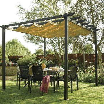 10'x10' (3mx3m) Glendale Seville Mocha Garden Gazebo