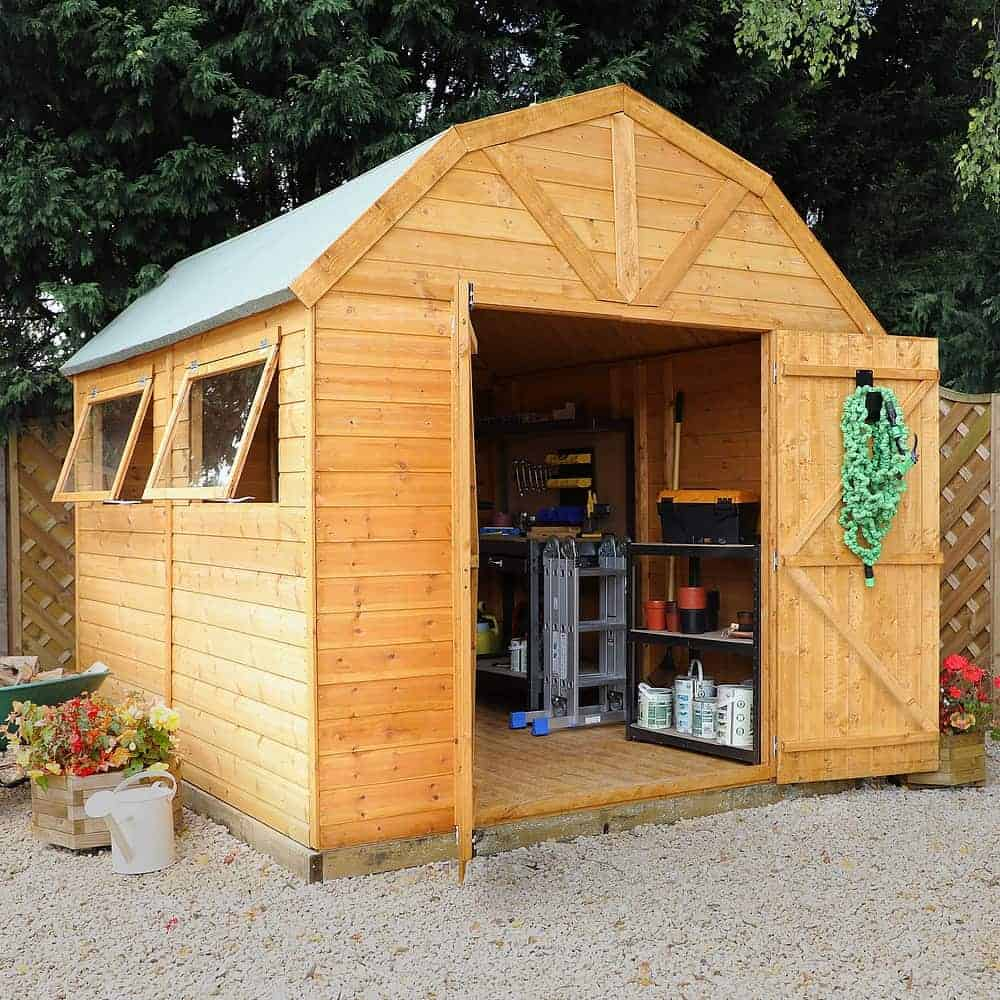 Walton's Dutch Barn Tongue and Groove Apex Garden Shed