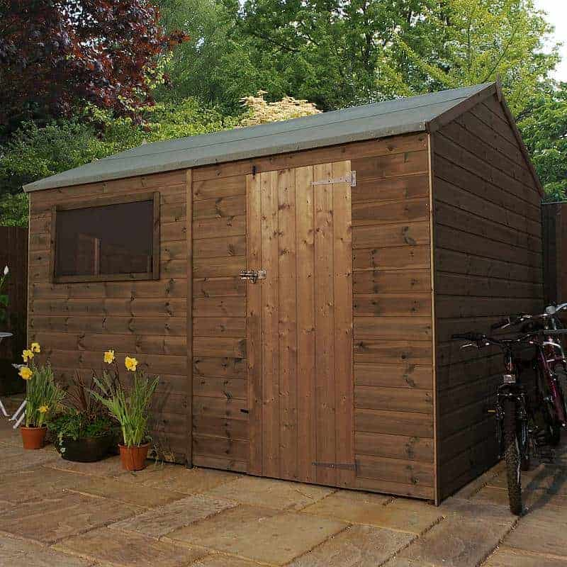 Walton's Shiplap Pressure Treated Reverse Apex Shed