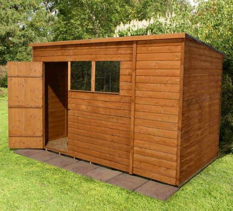 Wooden Sheds Supreme Range From Sheds To Last Finish Cladding