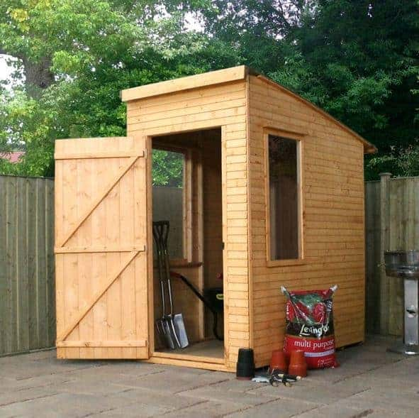 woodland trust wooden garden sheds 6 x 4 kurva shed - Garden Sheds 6x4