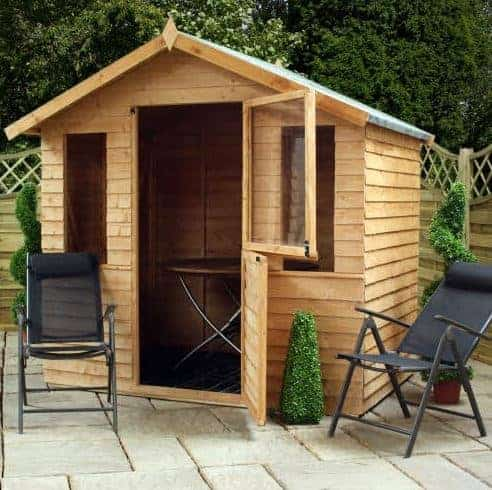 Waltons 7 x 5 Traditional Double Door Summerhouse