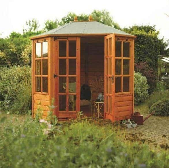 Rowlinson 8' x 6' Ryton Octagonal Summer House