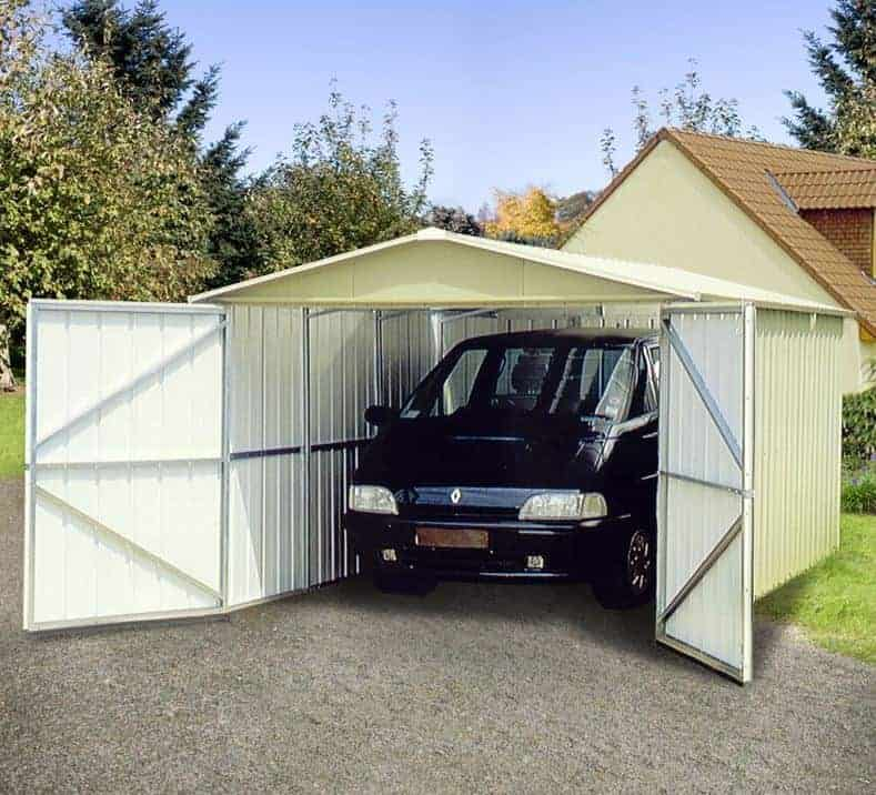 9'10 x 17'2 Yardmaster 1017 Metal Garage (2.97m x 5.22m)