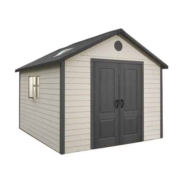 11' x 11' Lifetime Heavy Duty Plastic Shed (3.16m x 3.16m)