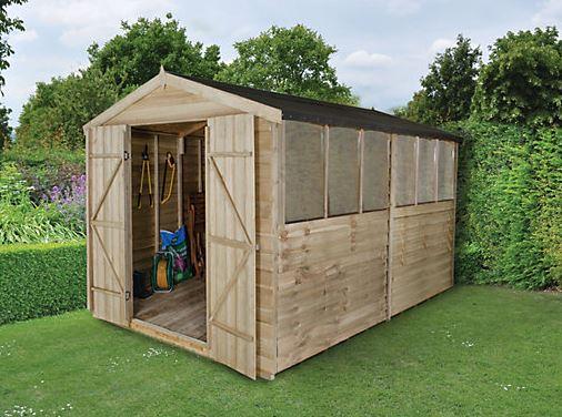 big sheds who has the best big sheds for sale in the uk. Black Bedroom Furniture Sets. Home Design Ideas