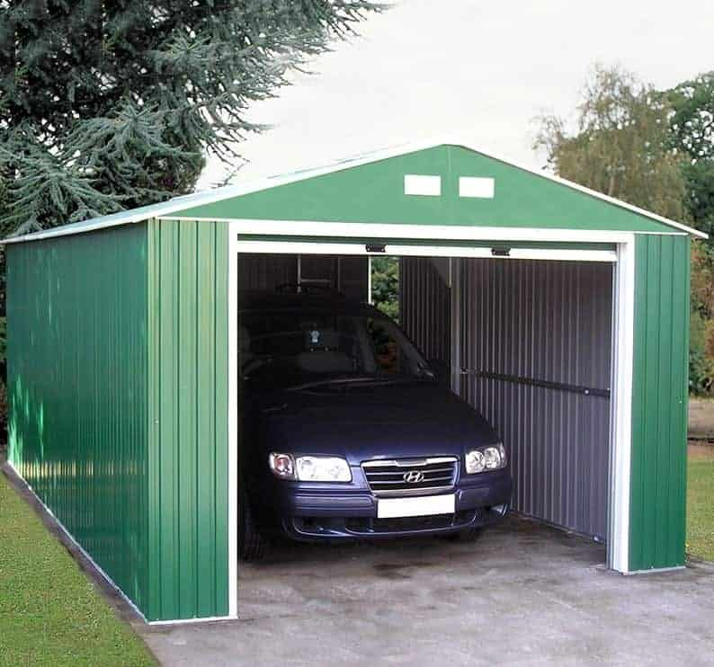 12'x20' Emerald Olympian Metal Garage