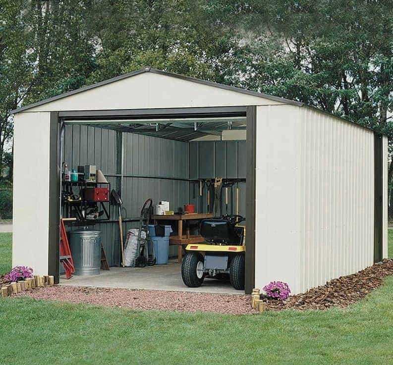 12'2 x 31' Arrow Murryhill VT1231 Metal Garage (3.71m x 9.54m)