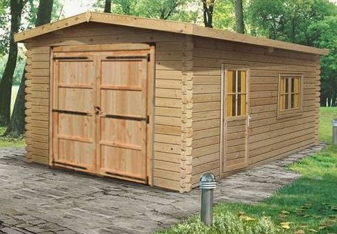 The Douglas 4.2m x 5.7m Log Cabin