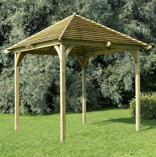 10x10 Forest Venetian Pavilion Without Deck
