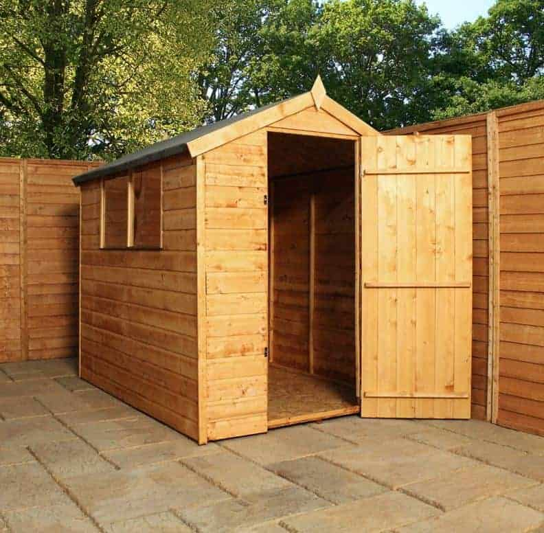 7' x 5' Windsor New Norfolk Wooden Garden Shed (2.13m x 1.52m)
