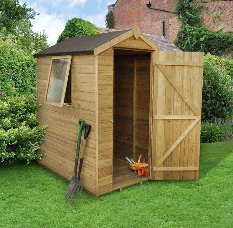 6 x 4 shed plus champion tongue and groove apex garden sheds