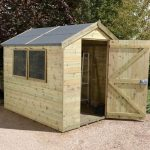 Garden Sheds - 8 x 6 Shed-Plus Champion Heavy Duty Apex Garden Sheds