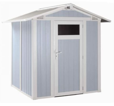 grossfillex 6 x 5 blue utility garden sheds