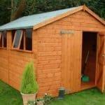 Garden Storage Sheds - Ryton Apex 8x6