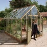 Glass Greenhouse - 9 x 6 Ultimate Glass To Ground Greenhouse