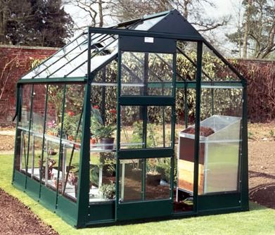6'x10' Palram Hybrid Walk In Green Polycarbonate Greenhouse (1.8x3m)