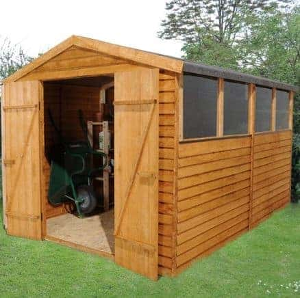 Hartwood 10' x 8' FSC Overlap Apex Workshop