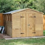 Hartwood 10' x 8' FSC Pressure Treated Overlap Apex Workshop