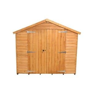 Hartwood 10' x 8' FSC Standard Workshop Front