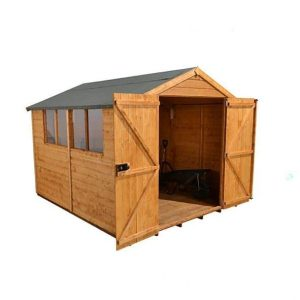 Hartwood 10' x 8' FSC Standard Workshop Side View