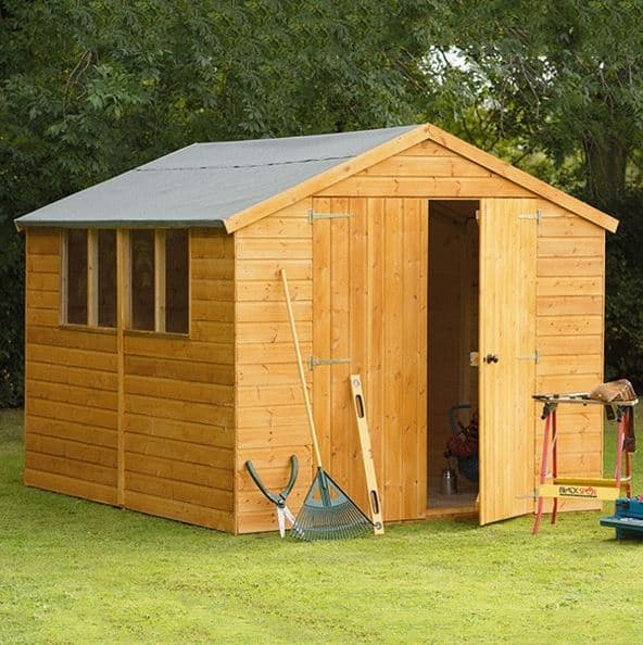Hartwood 10' x 8' FSC Standard Workshop