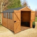 Hartwood 12' x 8' FSC Heavy Duty Workshop