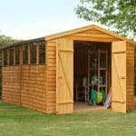 Hartwood 12' x 8' FSC Overlap Apex Workshop