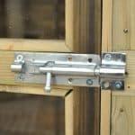 Hartwood 6' x 6' FSC Pressure Treated Sutton Overlap Apex Summerhouse Lockable Hinged Door
