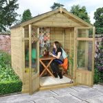 Hartwood 7' x 5' FSC Pressure Treated Bloxidge Summerhouse