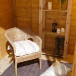 Hartwood 7' x 7' FSC Bidford Summerhouse Inside View