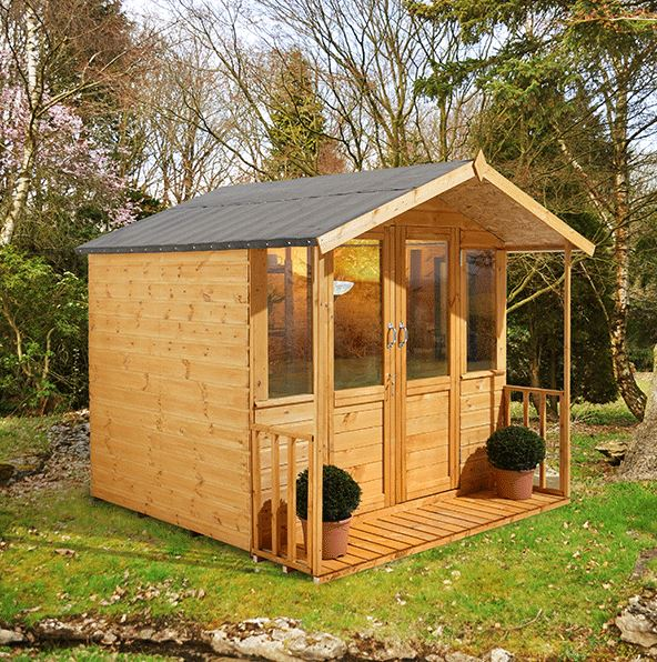 Hartwood 7' x 7' FSC Bidford Summerhouse