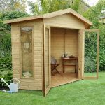 Hartwood 7' x 7' FSC Pressure Treated Oxhill Corner Summer House