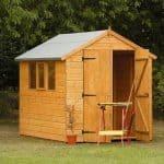 Hartwood 8' x 6' FSC Apex Heavy Duty Shed