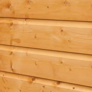 Hartwood 8' x 6' FSC Apex Heavy Duty Shed Cladding
