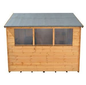 Hartwood 8' x 6' FSC Apex Shed Styrene Glazing Windows