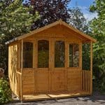Hartwood 8' x 8' FSC Chadbury Summerhouse