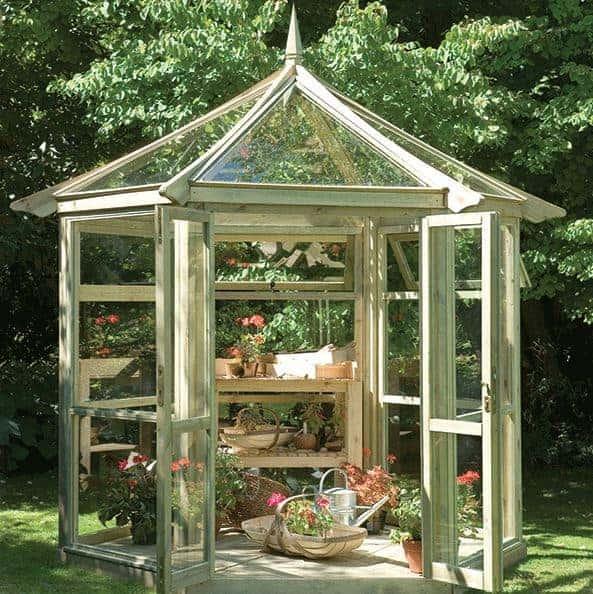 Hartwood 9' x 8' FSC Malvern Glass House