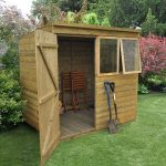 Hartwood Premium 7' x 5' FSC Tongue and Groove Pent Shed