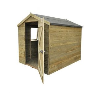Hartwood Premium 8' x 6' FSC Tongue and Groove Apex Shed Empty Inside