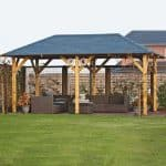 Large Gazebo - 20 x 11 Waltons Superior Garden Large Gazebo