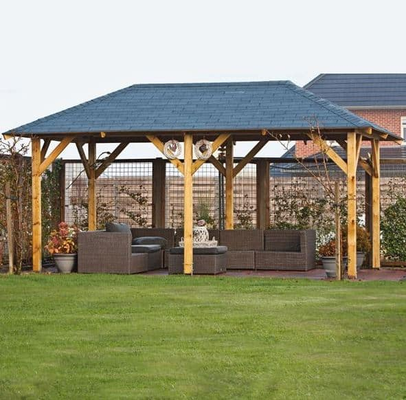 20 x 11 Waltons Superior Garden Large Gazebo