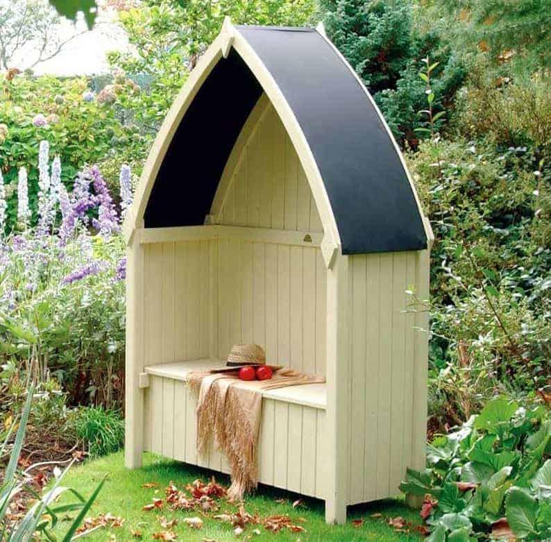 Rowlinson Winchester Garden Arbour Seat 4'x2'